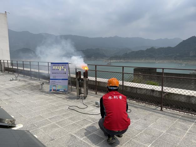 1100414-曾文地面人工增雨作業_圖示