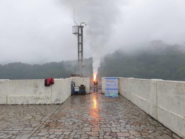 1100428-石門地面人工增雨作業_圖示