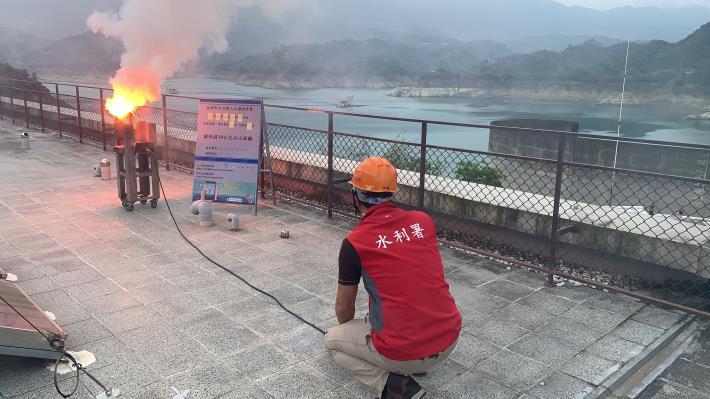 1100425-曾文地面人工增雨作業_圖示