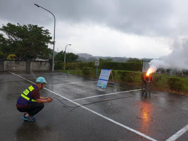 1100505-永和山地面人工增雨作業_圖示