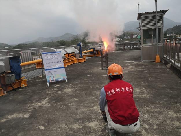 1100418-甲仙堰地面人工增雨作業_圖示