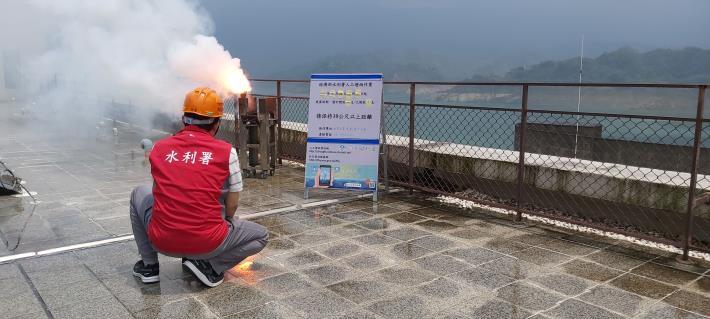 1100426-曾文地面人工增雨作業_圖示