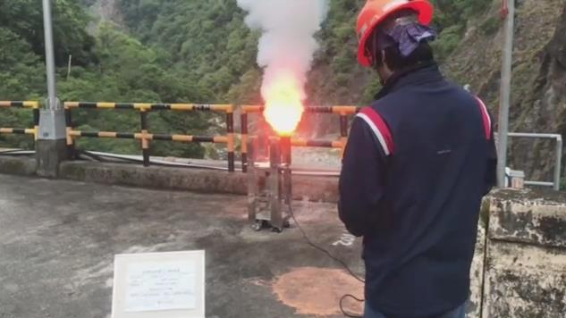 1100428-天輪壩地面人工增雨作業_圖示