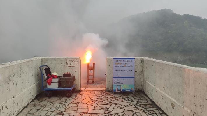 1100423-石門地面人工增雨作業_圖示