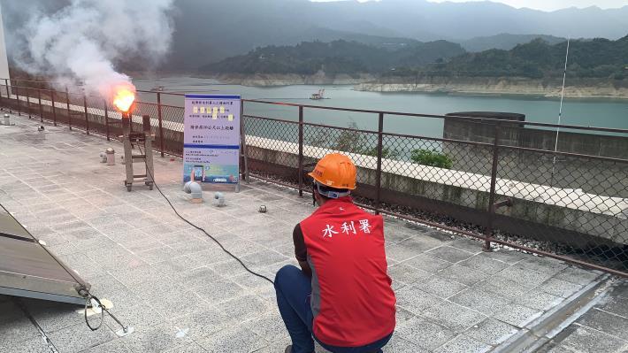 1100418-曾文地面人工增雨作業_圖示