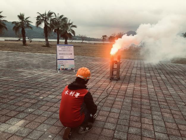 1100425-阿公店地面人工增雨作業_圖示