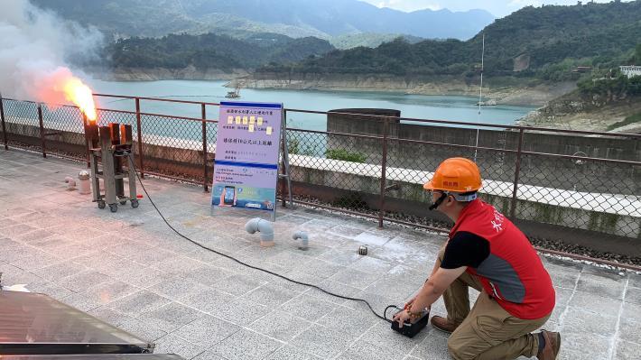 1100505-曾文地面人工增雨作業_圖示