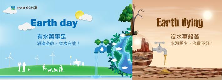 電腦版_抗旱節水世界地球日水資源短缺_圖示