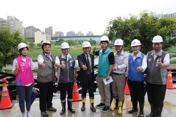 署長賴建信受邀參加前瞻基礎建設老街溪流域工程視察2_圖示