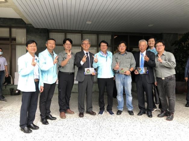 「109年公共工程優質獎」-第二河川局獲獎。_圖示