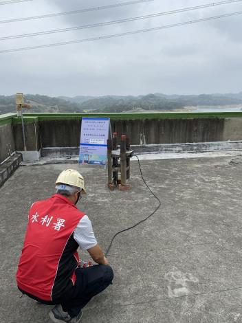 把握難得時機 水利署在寶二水庫進行人工增雨作業_圖示