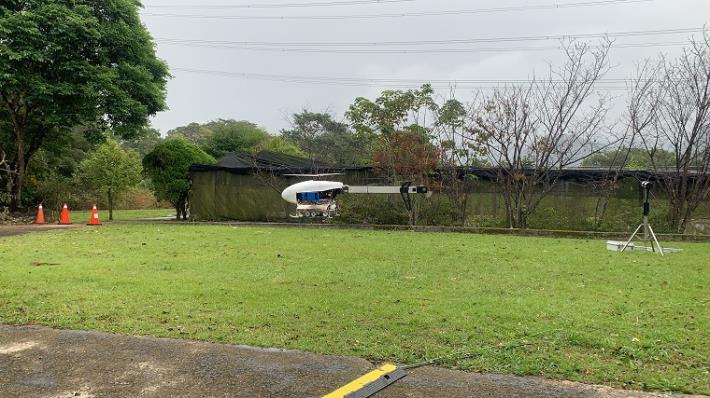 水利署把握此波難得降雨系統在石門水庫進行第2次無人機增雨作業1_圖示