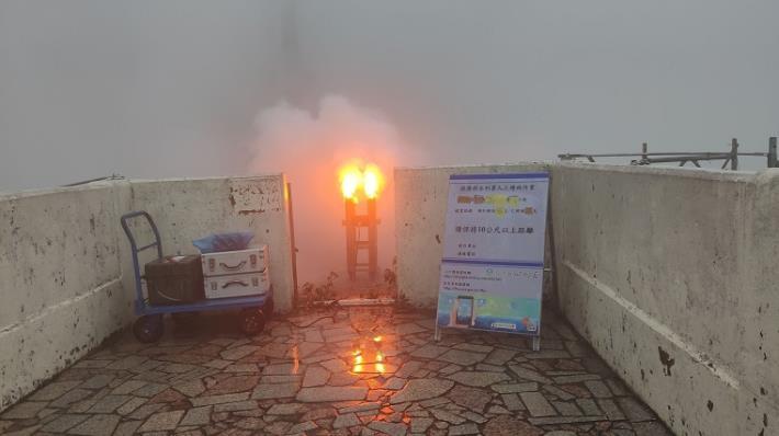 把握此波降雨雲系通過於石門水庫人工增雨施作_圖示