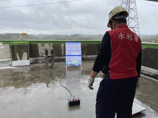 把握此波降雨雲系通過於寶二水庫人工增雨施作_圖示