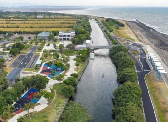 水漾生活獎-新竹市「港南運河親水再造計畫」_圖示