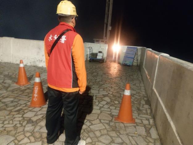 水利署把握機會於石門水庫啟動人工增雨作業_圖示