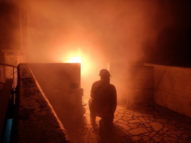 水利署把握機會於石門水庫啟動人工增雨作業1_圖示