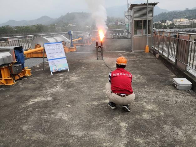 水利署把握南部午後降雨機會於甲仙堰人工增雨施作_圖示