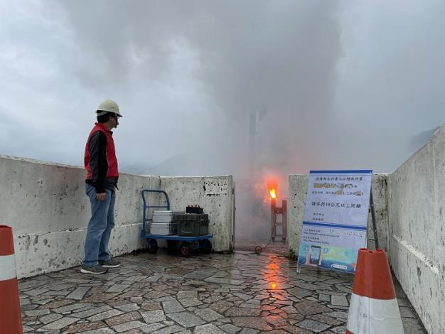 找水增雨每一滴水都不放過  今早水利署於石門水庫啟動人工增雨施作_圖示