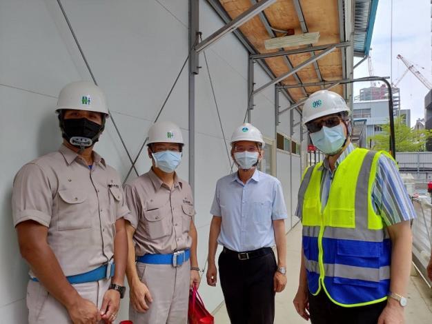 水利署署長賴建信與忠泰營造公司總經理陳秋雄視訊並向第一線工作人員說聲謝謝5_圖示