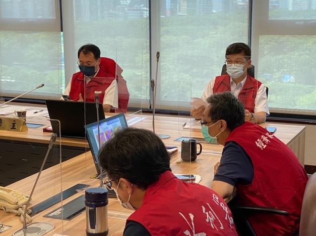 經濟部水利署及各所屬機關召開防汛視訊會議3_圖示