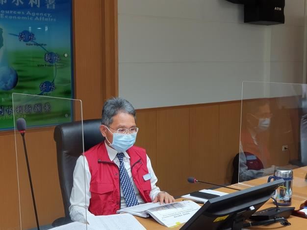 110年旱災經濟部災害緊急應變小組第一次工作會議_圖示