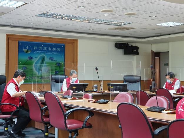 110年旱災經濟部災害緊急應變小組第一次工作會議3_圖示