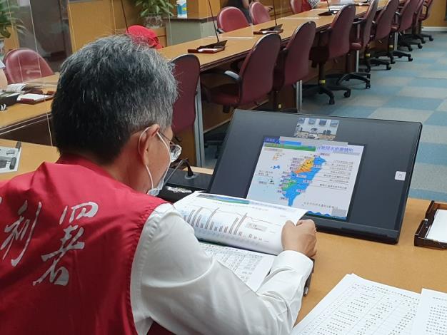 110年旱災經濟部災害緊急應變小組第一次工作會議1_圖示
