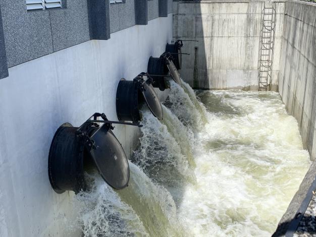 水利署加強巡檢水利建造物及防汛整備確保安全-無預警抽查抽水站操作_圖示