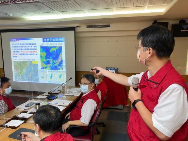因應西南氣流可能強降雨   水利署提前防汛應變 (1)_圖示