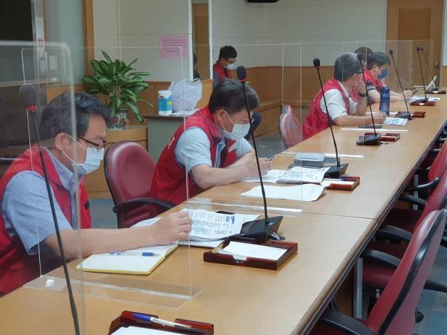 因應盧碧颱風水利署今(4)日召開防汛整備視訊會議3_圖示
