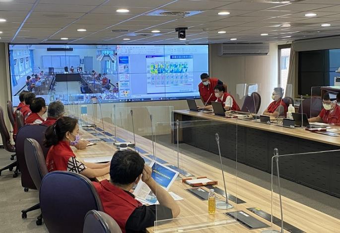 因應盧碧颱風水利署今(4)日召開防汛整備視訊會議1_圖示