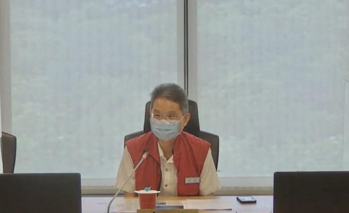 因應盧碧颱風水利署今(4)日召開防汛整備視訊會議—署長主持_圖示