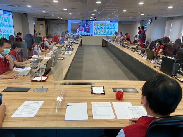 水災經濟部災害應變小組今(6)日召開防汛視訊會議1_圖示