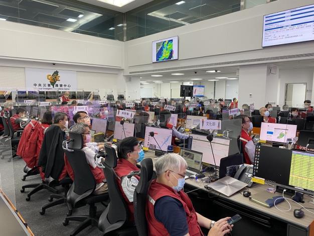 0806水災中央災害應變中心第三次工作會報2_圖示
