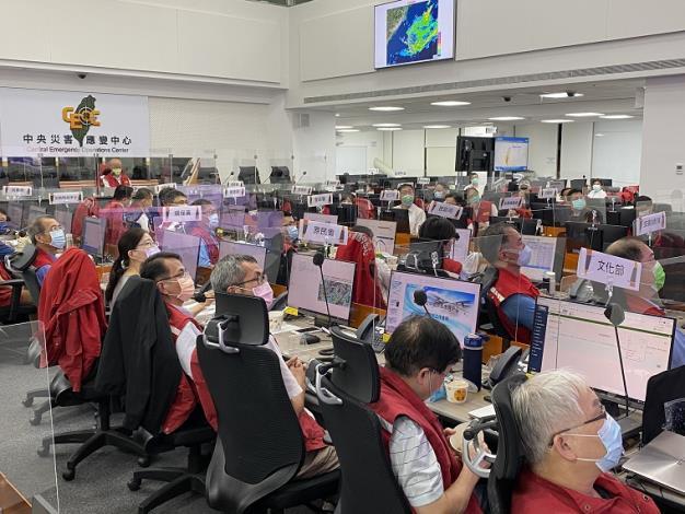 0806水災中央災害應變中心第四次工作會報暨情資研判會議1_圖示