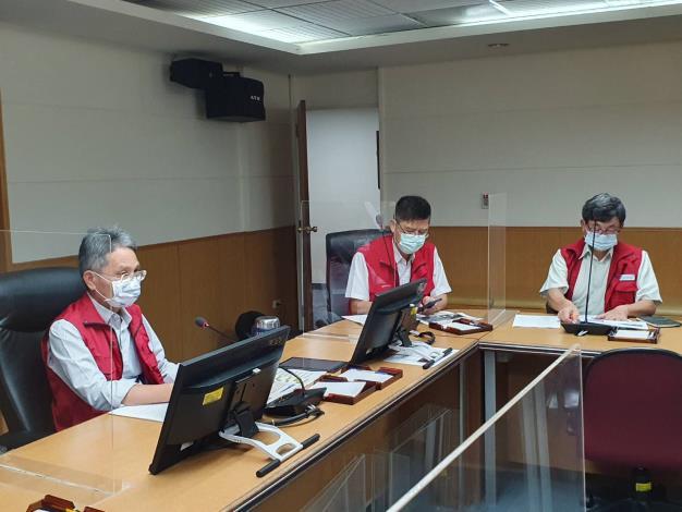 水利署召開防汛視訊會議   嚴加防範璨樹颱風_圖示