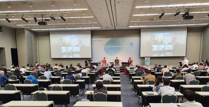 水利署舉辦2021台灣國際水週國際論壇—綜合座談2_圖示