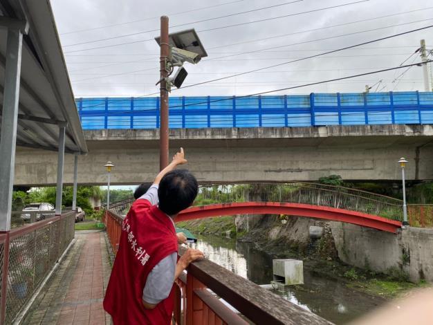 防汛熱點排水路CCTV檢視功能正常視像清晰_圖示