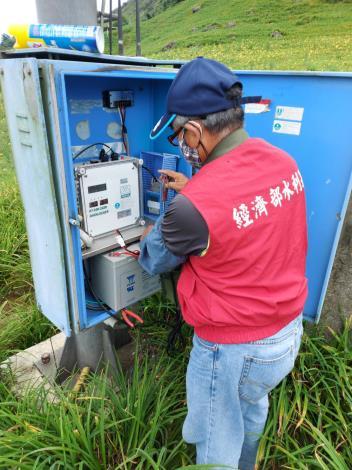 山區雨量站蓄電池檢查及市電/太陽能雙電源確認_圖示