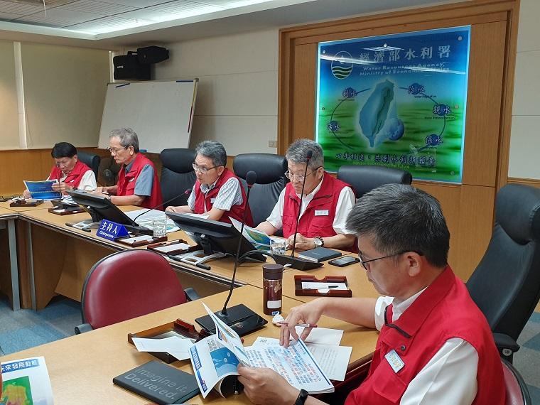 面對熱帶性低氣壓形成 水利署召開防汛視訊會議提前防範