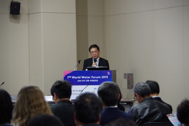 Vice Minister Yang, Wei-Fuu is giving an opening remarks
