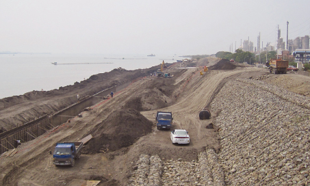 Linyuan levee project completed