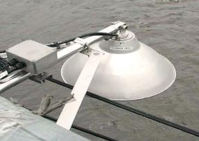Ultrasonic water level gauge