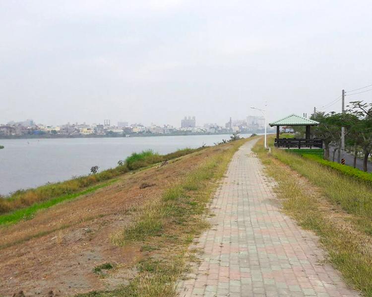 東港溪下游右岸新園堤防河段_圖示
