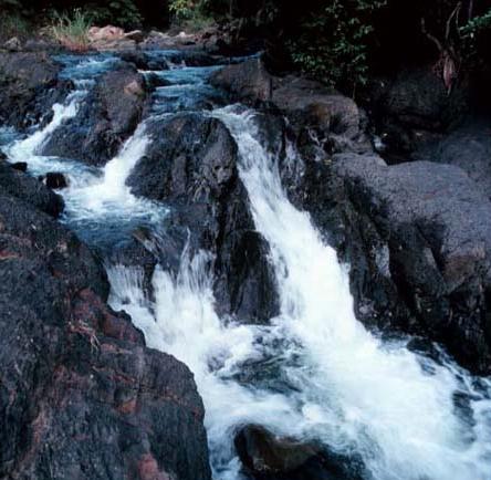 四重溪上游牡丹溪時有崎嶇河床激流景觀_圖示