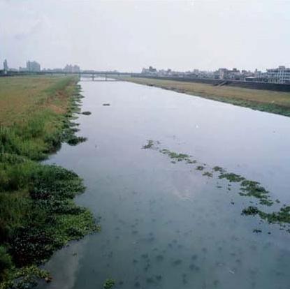 宜蘭河中上游中山橋下游,已整治河段_圖示