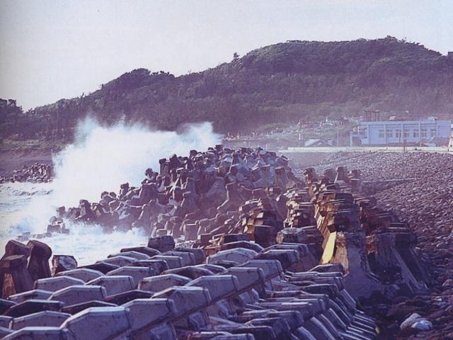 八仙洞海岸保護工程_圖示