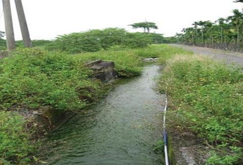 灌溉渠道 (圖片來源:科技大觀園)