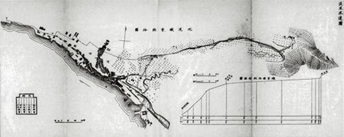 淡水水道鐵管路線圖。 來源:Taine